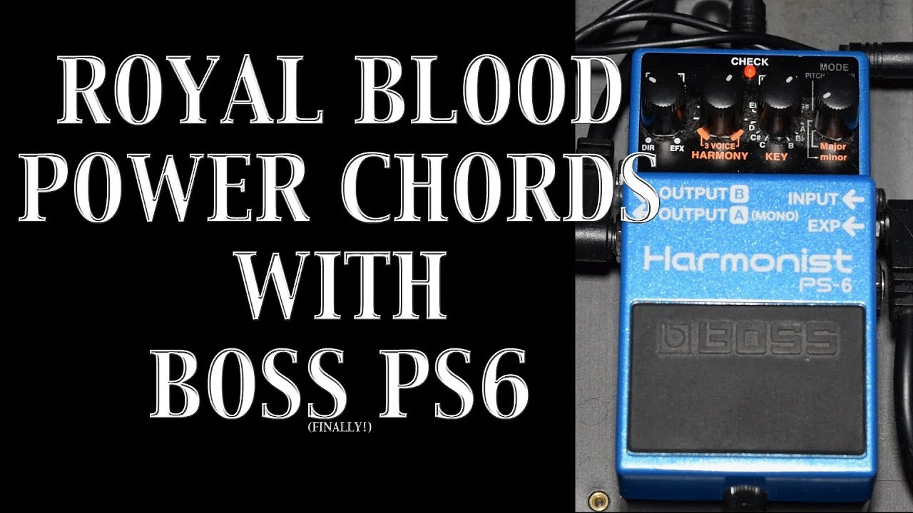 Royal blood sound making power chords with boss ps6 youtube royal blood sound making power chords with boss ps6 hexwebz Image collections