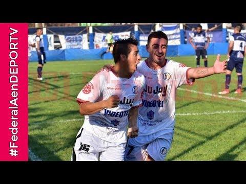 AGÓNICO - ¡Con 2 goles en 3 minutos Zapla dio vuelta el partido! #FederalAenDEPORTV