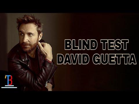 BLIND TEST DAVID GUETTA DE 25 EXTRAITS (AVEC RÉPONSES)