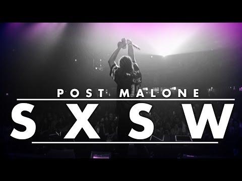 Post Malone Saucin' Through SXSW