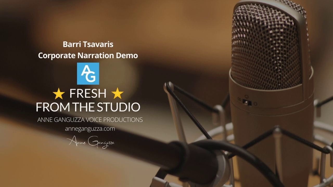Barri Tsavaris - Corporate Narration Demo