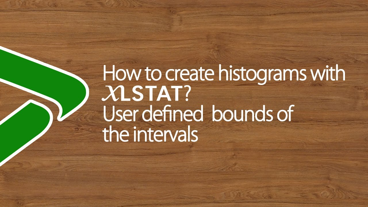 how to find intervals for histograms