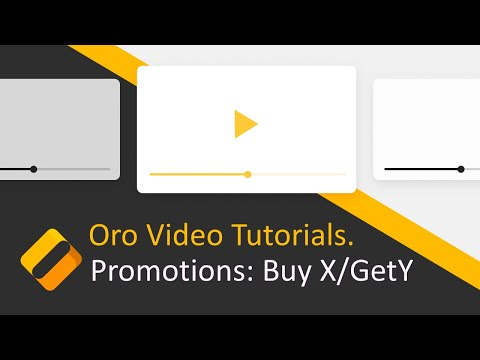 How to Create Buy X/Get Y Promotion in OroCommerce