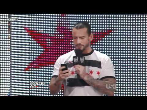 CM Punk - omg kevin nash wtf thought he was dead lol