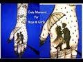Cute Moment of Boy & Girl Mehndi Tattoo | mehndi tattoo for hand | mehndi designs