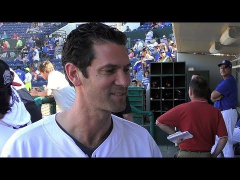 Shawn Green Interview at California-Carolina All-Star Game