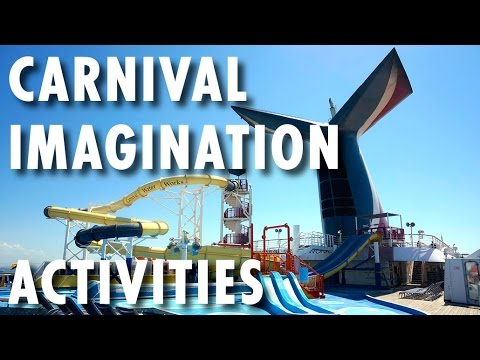 Carnival Imagination Tour & Review: Activities ~ Carnival Cruise Line ~  Cruise Ship Tour & Review