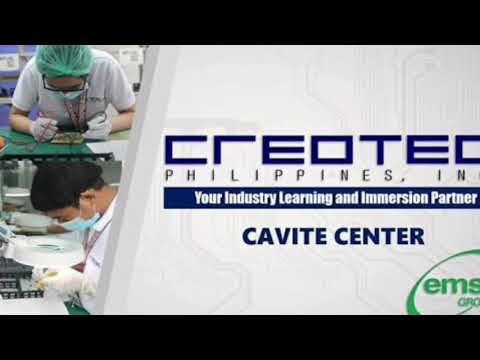 CREOTEC CAVITE CENTER WORK IMMERSION EXPERIENCE
