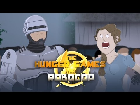 Movie Mash: The Hunger Games and Robocop