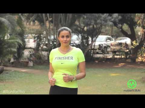 Inspirational Running Video by Gul | Gul Panag kicks off her #RunForRio