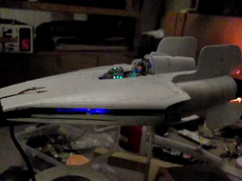 1/24 A-Wing 07: All Lit Up
