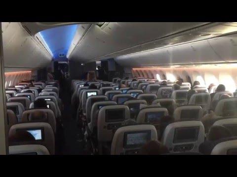 British Airways 787-9 Toronto To London