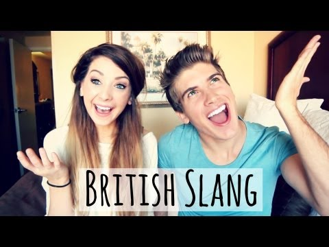British Slang With Joey Graceffa | Zoella