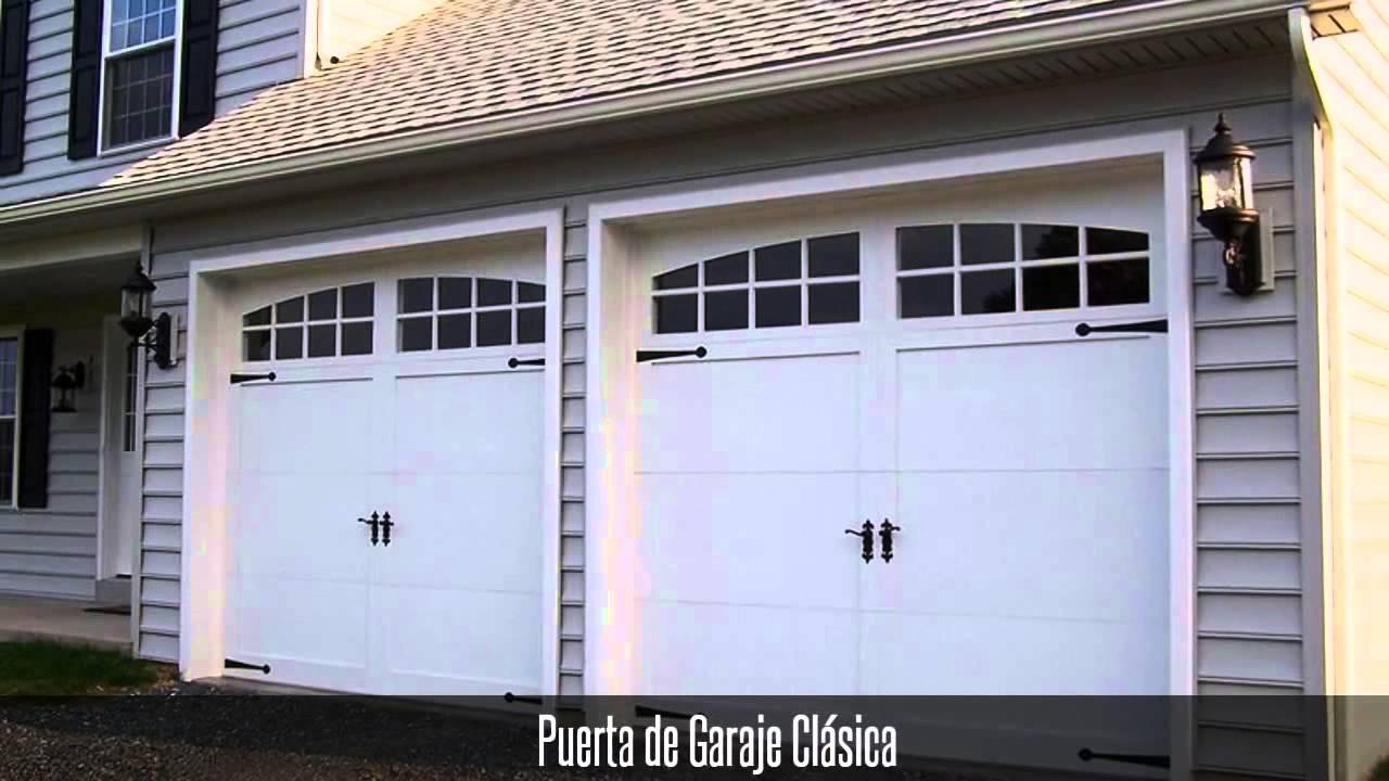 Puertas autom ticas garage puertas met licas portones automaticos youtube - Puertas de cochera ...