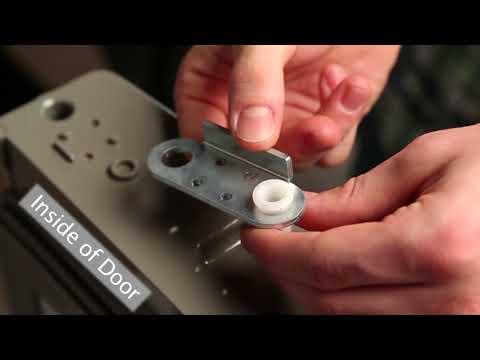 LG Top Mount Refrigerator - Reverse & Install Doors (2018 Update)