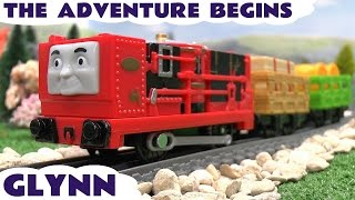 Thomas and Friends Walmart Trackmaster Glynn Thomas y sus Amigos The Adventure Begins Tomac Toy