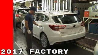 2017 Subaru Impreza Production Factory At The Indiana Plant