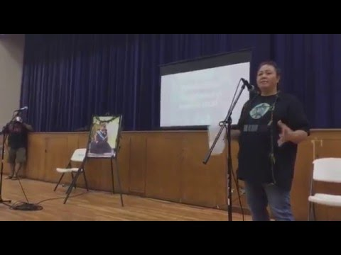 'Aha Aloha 'Āina ma Wai'anae: Healani Sonoda-Pale, Walter Ritte and Proffessor Williamson Chang