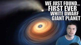We Just Found First Ever Giant Planet Around a White Dwarf