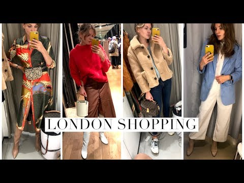 Come Shopping With In London : Zara, Mango, H&M