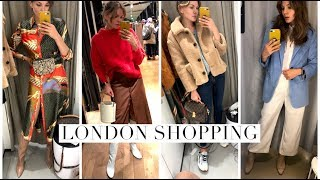 Come Shopping with me in London : Zara, Mango, H&M