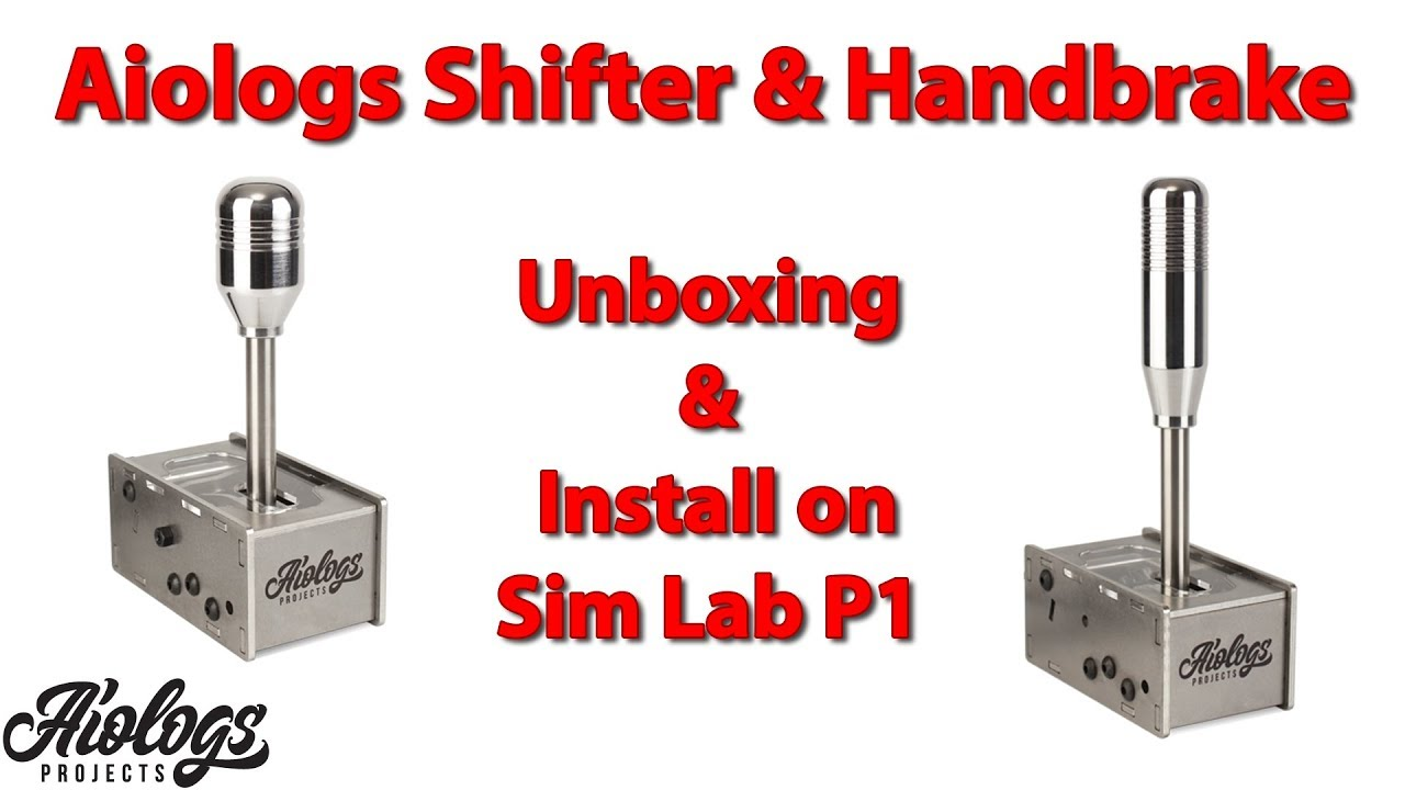 Aiologs Shifter & Handbrake - Unboxing & install on Sim Lab