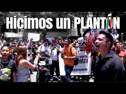 Plantón a la Casa de AMLO - #SeSolicitaPresidente ♛