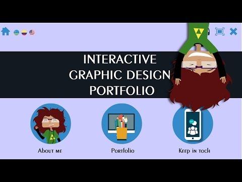 Interactive Graphic Design Portfolio