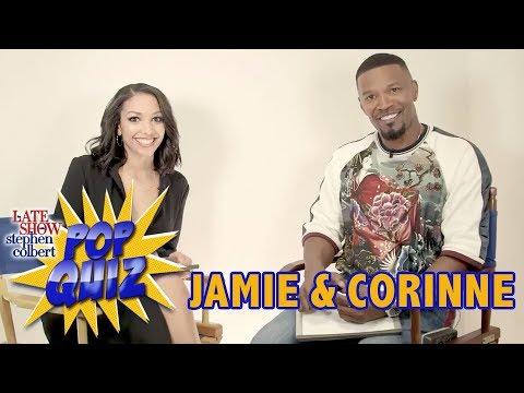 'Pop Quiz' With Jamie & Corinne Foxx