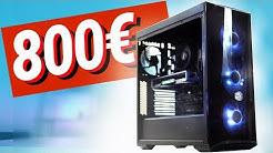 Bester 800 - 900€ GAMING PC 2019!! - TEST & Zusammenbauen!