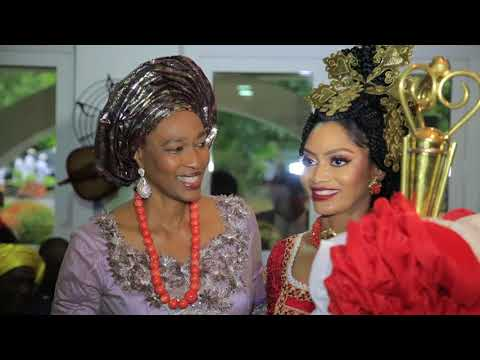 Ovation Platinum Wedding Between Xerona Duke & Derin Phillips In Calabar