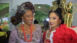 Ovation Platinum Wedding Between Xerona Duke  Derin Phillips In Calabar