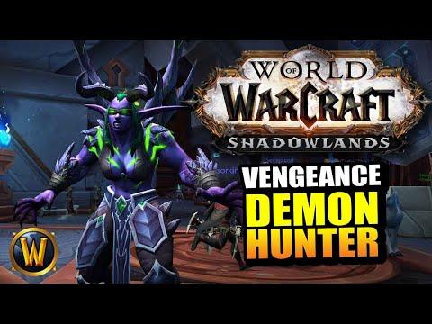 Vengeance Demon Hunter On The Shadowlands Beta // World Of Warcraft