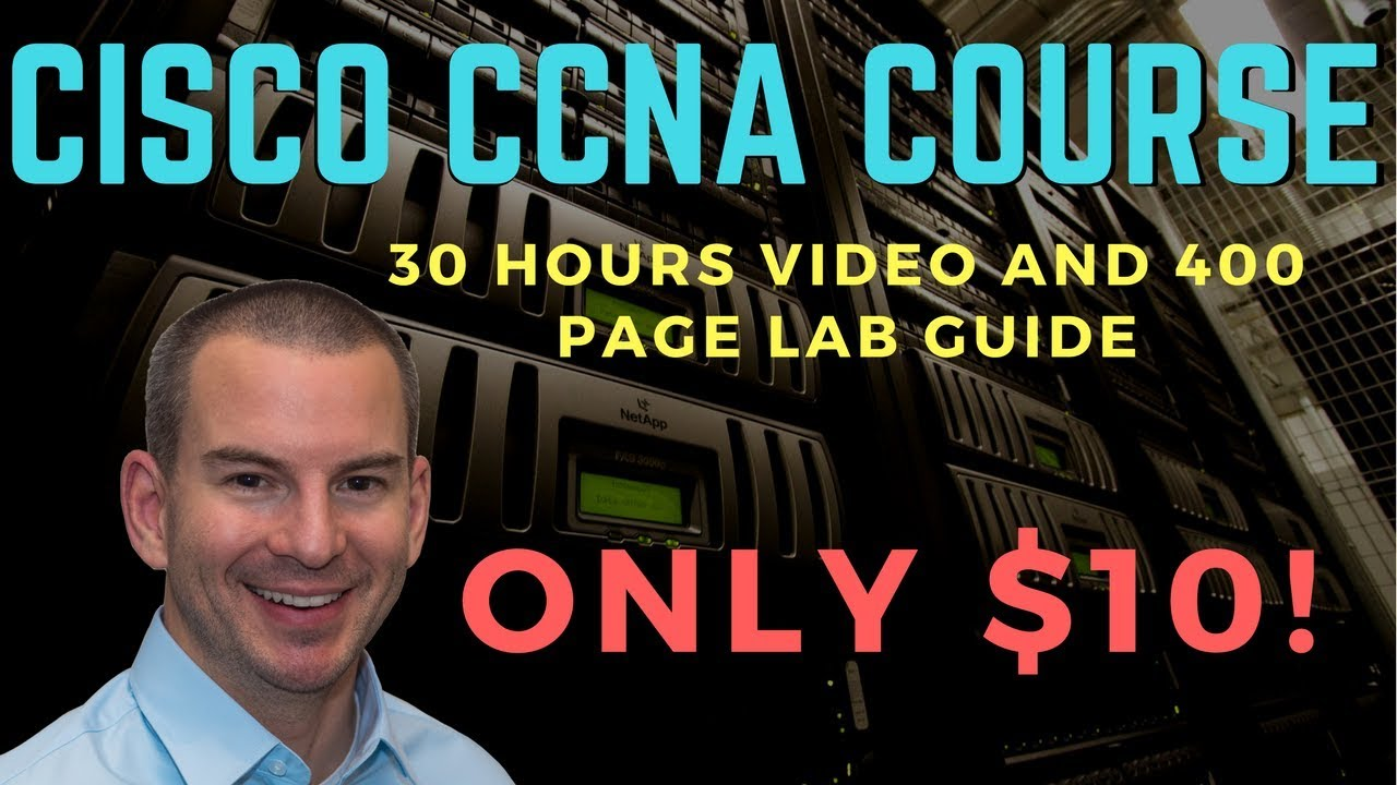 Cisco CCNA 200-125 Course - 95% Off