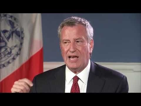 New York Mayor Bill de Blasio [EXTENDED INTERVIEW]