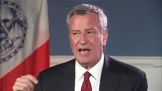 New York Mayor Bİll de Blasio [EXTENDED INTERVIEW]