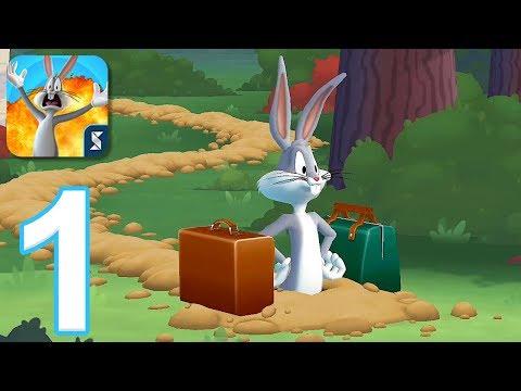 Looney Tunes World of Mayhem - Gameplay Walkthrough Part 1 - Tutorial (iOS, Android)