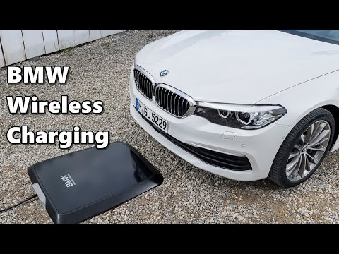 bmw wireless charging 530e iperformance youtube. Black Bedroom Furniture Sets. Home Design Ideas