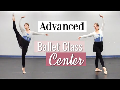 Advanced Ballet Class - Center | Kathryn Morgan