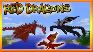 Minecraft 1.8 SnapShot News: Red Dragons, Dragon Eggs, Tamable Dragons?!?