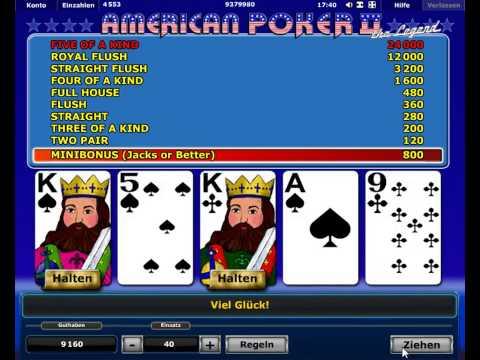 Video Spielen poker kostenlos