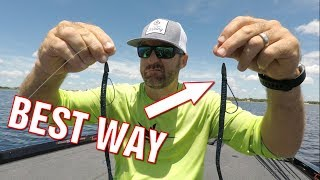 How To Rig a Texas Rig Worm - Best Way