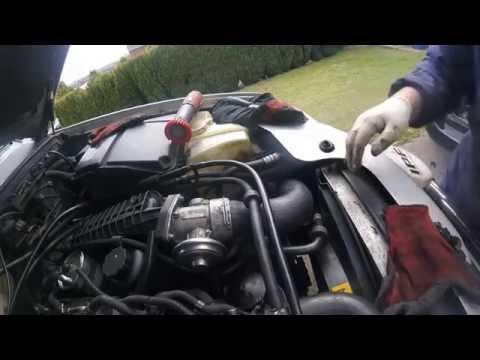 Как снять и почистить EGR Mercedes ml 270 cdi
