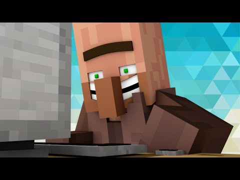 When Villagers Discovers Porn - Minecraft Animation