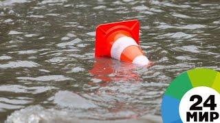 Казахстан борется с паводками: подтоплено более 300 домов - МИР 24