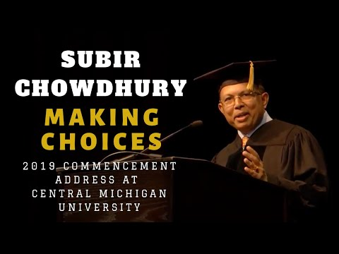 2019-commencement-speech-by-subir-chowdhury-at-central-michigan-university