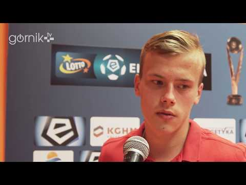 Daniel Smuga o meczu z Zagłębiem (06-05-2018)