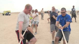 386 AEW Airmen get fit with the Warrior Challenge