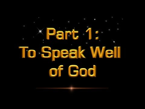 An Exposition of the Book of Job: To Speak Well of God - Mr J Pople Christadelphians
