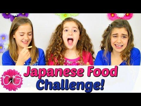 JAPANESE FOOD CHALLENGE!!  GOOD OR GAG?!